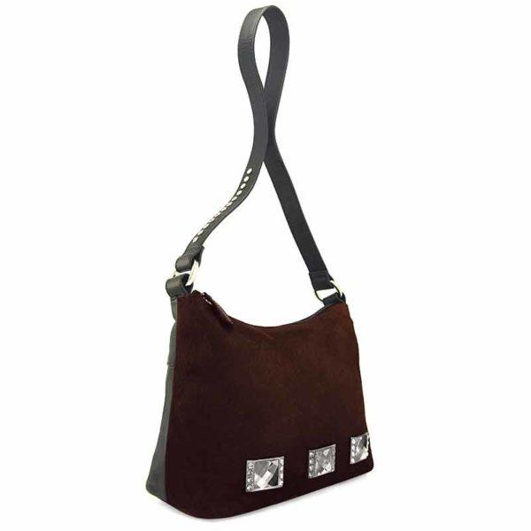 сумка для женщин из натуральной шерсти и кожи Ohh! Ashley красивая
