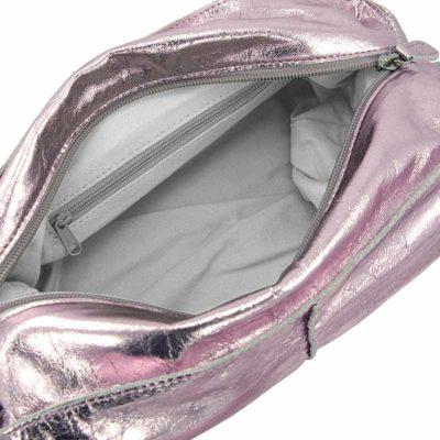 сумка женская из натуральной кожи Ohh! Ashley розовая