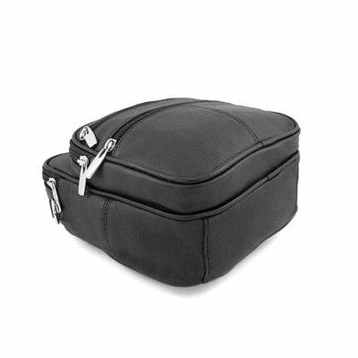 барсетка сумочка кожаная для мужчин черная
