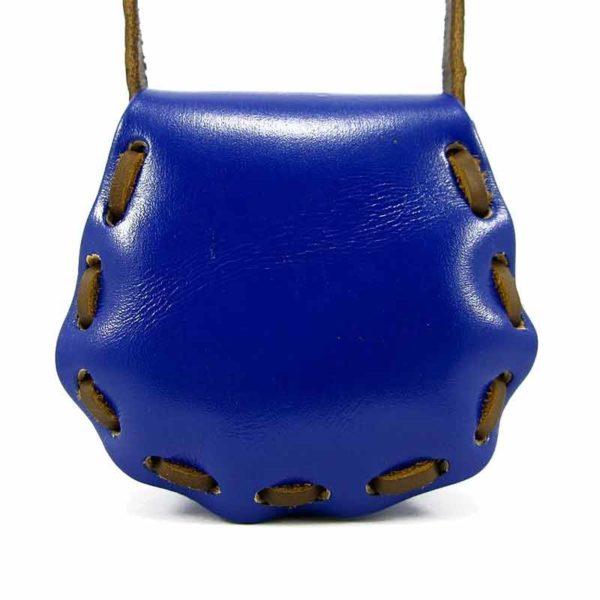 Сумочка из натуральной кожи для детей Companero синяя