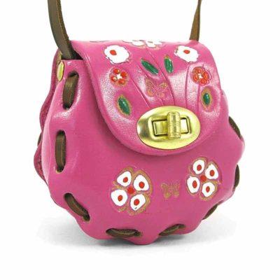 Сумочка из натуральной кожи для детей Companero розовая